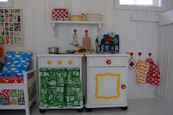 DIY lekekjøkken