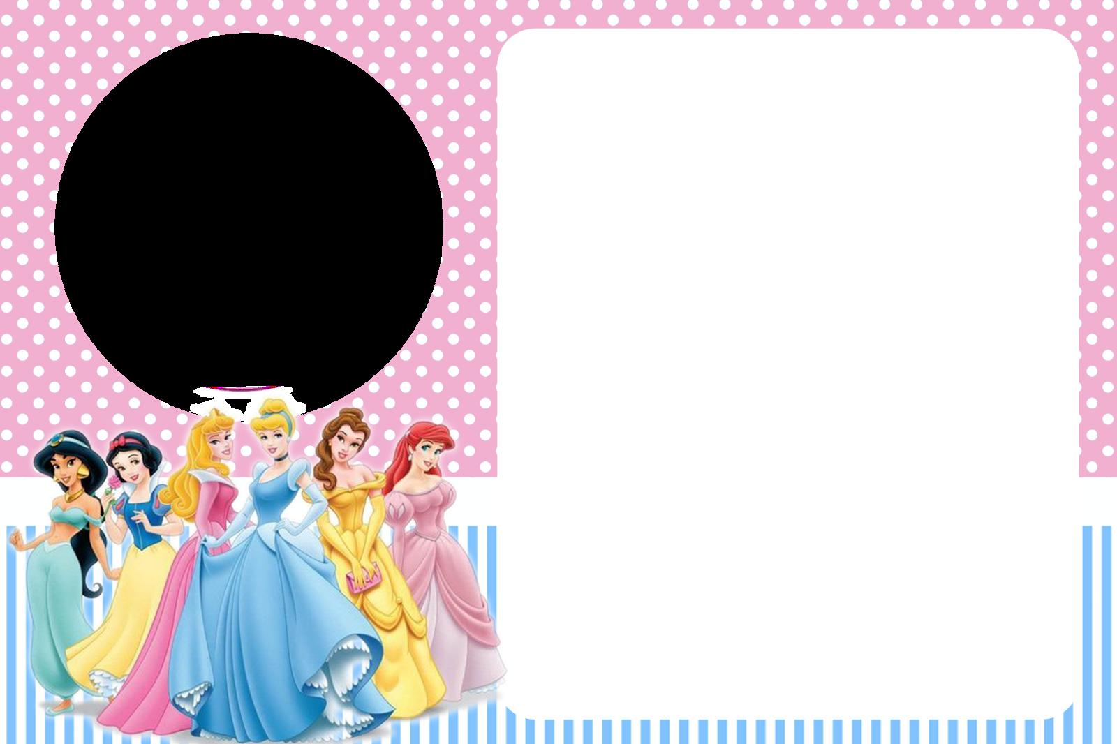 Princesas Disney: Imprimibles, Tarjetas e Invitaciones Gratis ...
