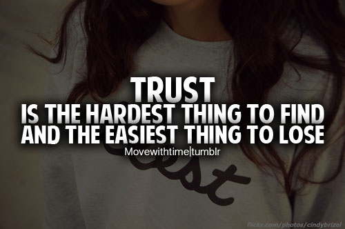 quotations on trust - photo #27
