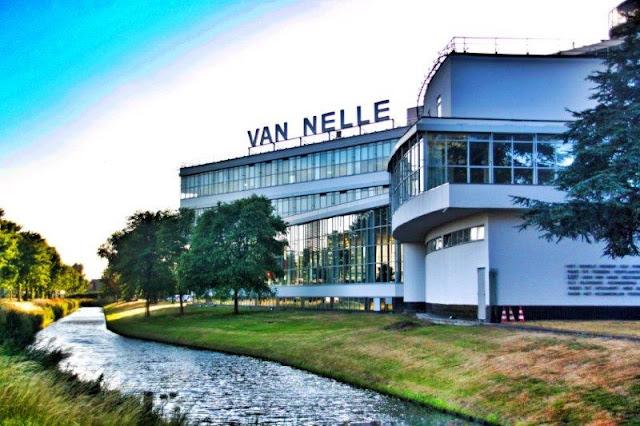 Fabrica Van Nelle fabriek en Rotterdam