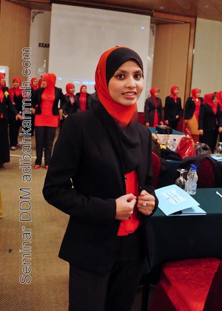 testimonial kejayaan peluang perniagaan korset premium beautiful ddm adibah dlm seminar ddm di hotel awana genting highlands