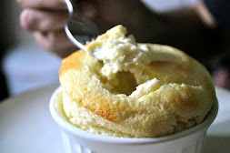 VANILLA GREEK YOGURT SOUFFLE