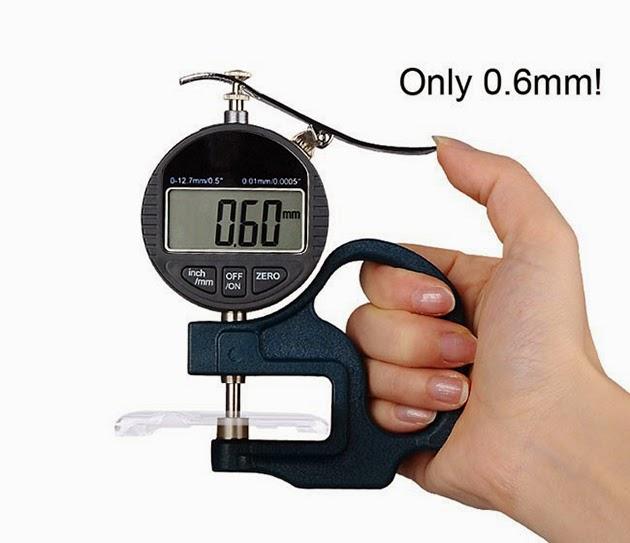 ความบางเพียง 0.6 มิลลิเมตร
