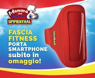Fascia fitness porta smartphone in omaggio