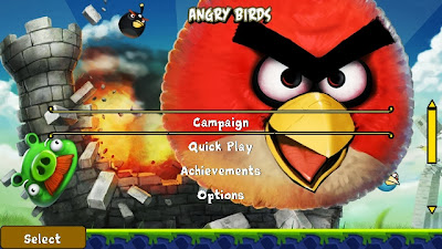 Nokia C5-03 Games: Angry Birds HD