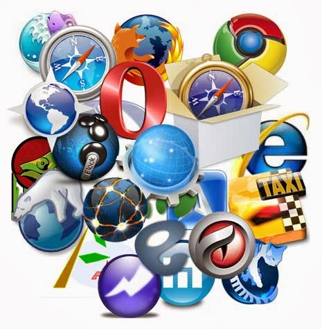 los tipos de navegadores de: