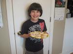 Dominic Serving Up Cookies
