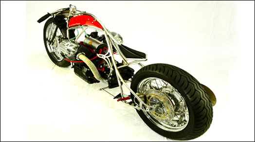 Bellerofonte – Moto Guzzi BOARD TRACKER Custom motorcycle