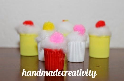 mini cupcake light