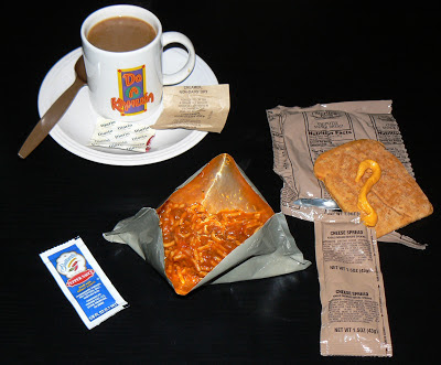 MRE Review: Menu 20, Spaghetti with Beef and Sauce