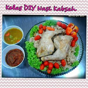 Kelas DIY Nasi Kabsah RM250
