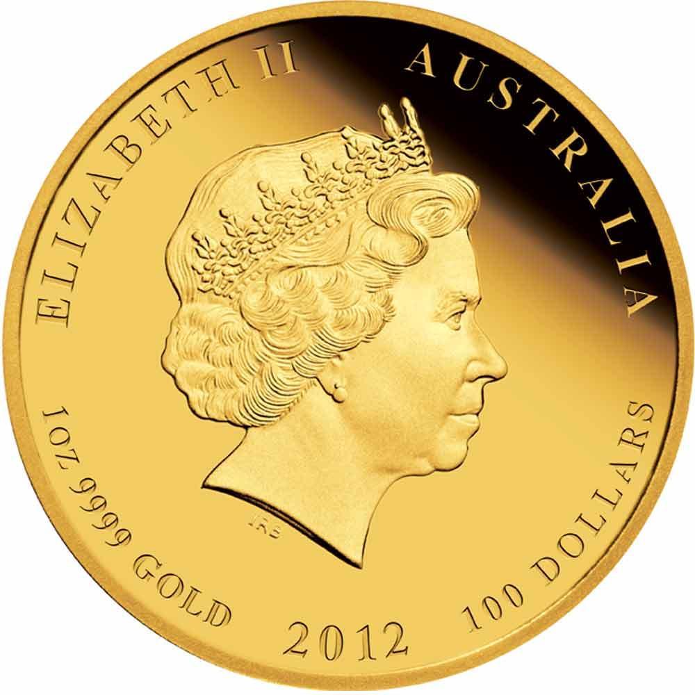 Australia gold coin
