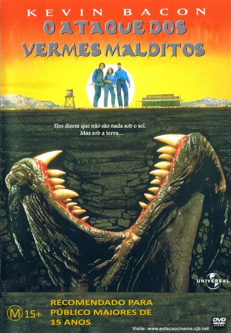 O Ataque dos Vermes Malditos – Dublado (1990)