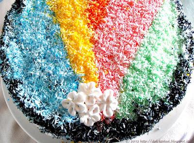 Dolci golosità:Torta rainbow