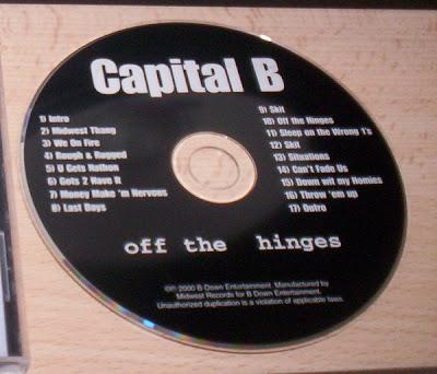 Capital B – Off The Hinges (2000) (192 kbps)