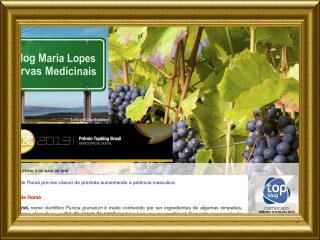 Obrigada por sua presença neo Blog Maria Lopes e Ervas Medicinais.