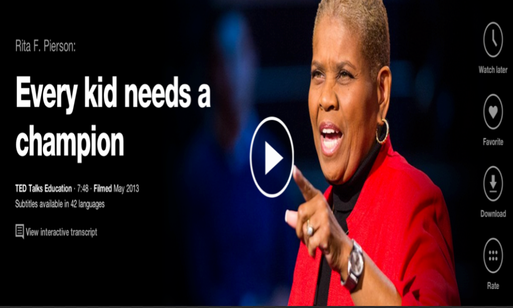 8 TED Talks from Inspiring Teachers ~ Educational Technology and ...