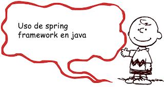Uso de spring framework en java