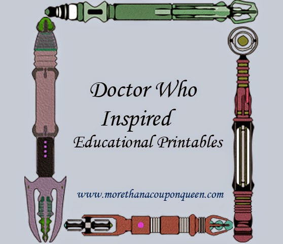 Free Doctor Who Educational Printables