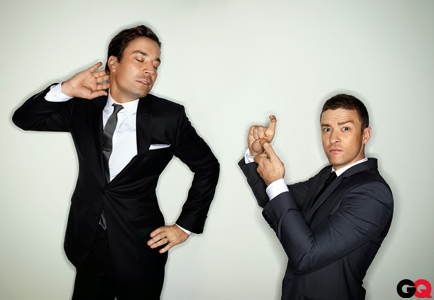 justin timberlake and jimmy fallon for GQ