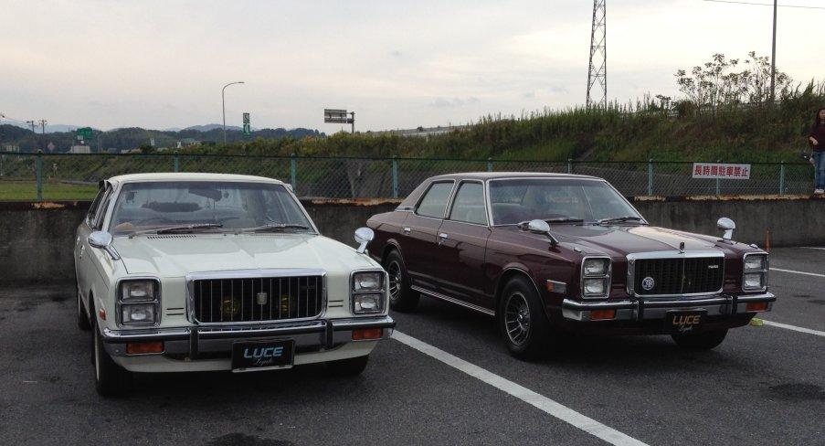 Mazda Luce Legato (929), stary japoński sedan, klasyczny model, japonia, galeria zdjęć
