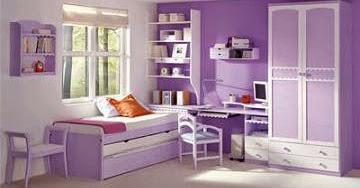 Ideas para decorar dormitorios juveniles en color violeta for Decoracion de recamaras para adultos