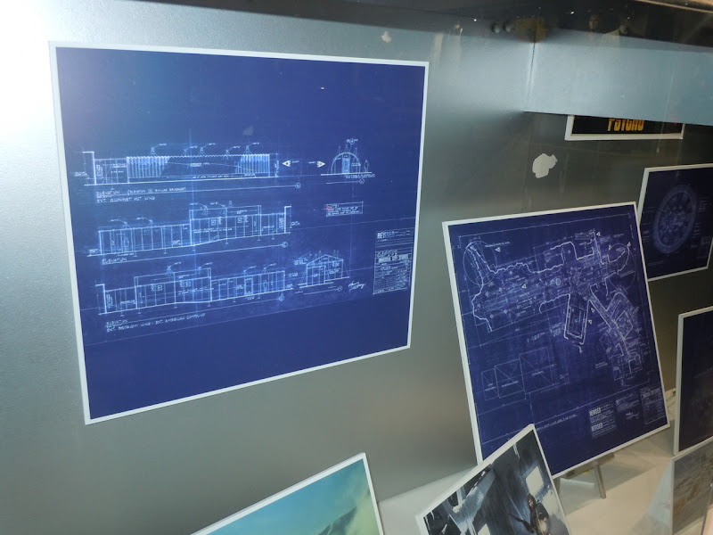 The Thing 1982 movie set blueprints