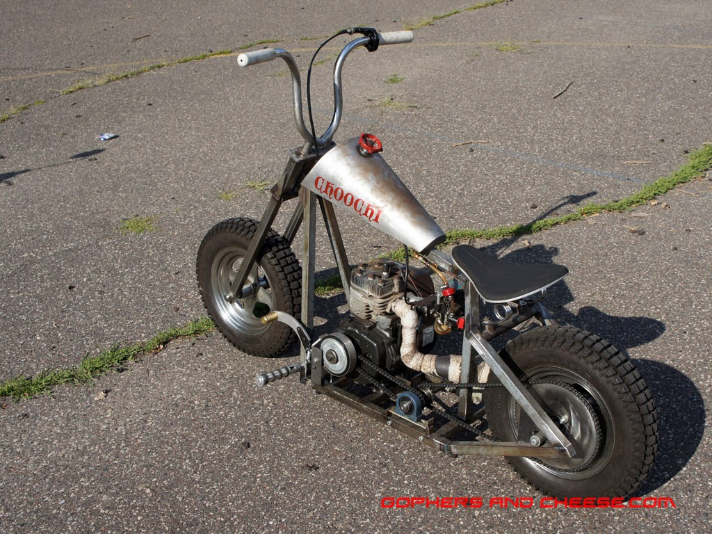 how to build a mini chopper motorcycle