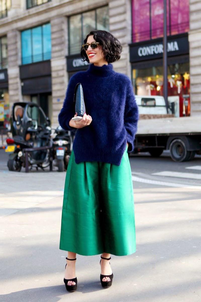 Eniwhere Fashion - Culottes - Maxi cardigan - Trend FW 2014-15