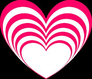 Valentine Hearts 1c