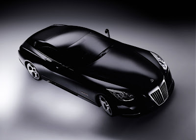 Most Expensive Car in World Maybach Exelero Top View