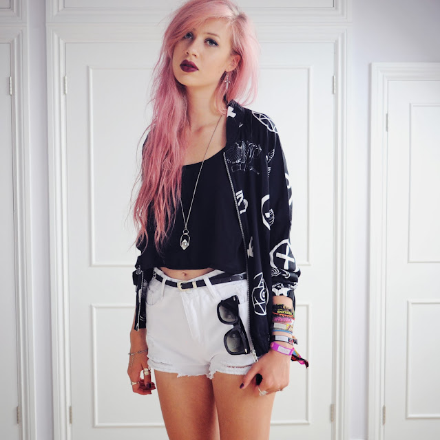 superb outfits with pink hair dresses