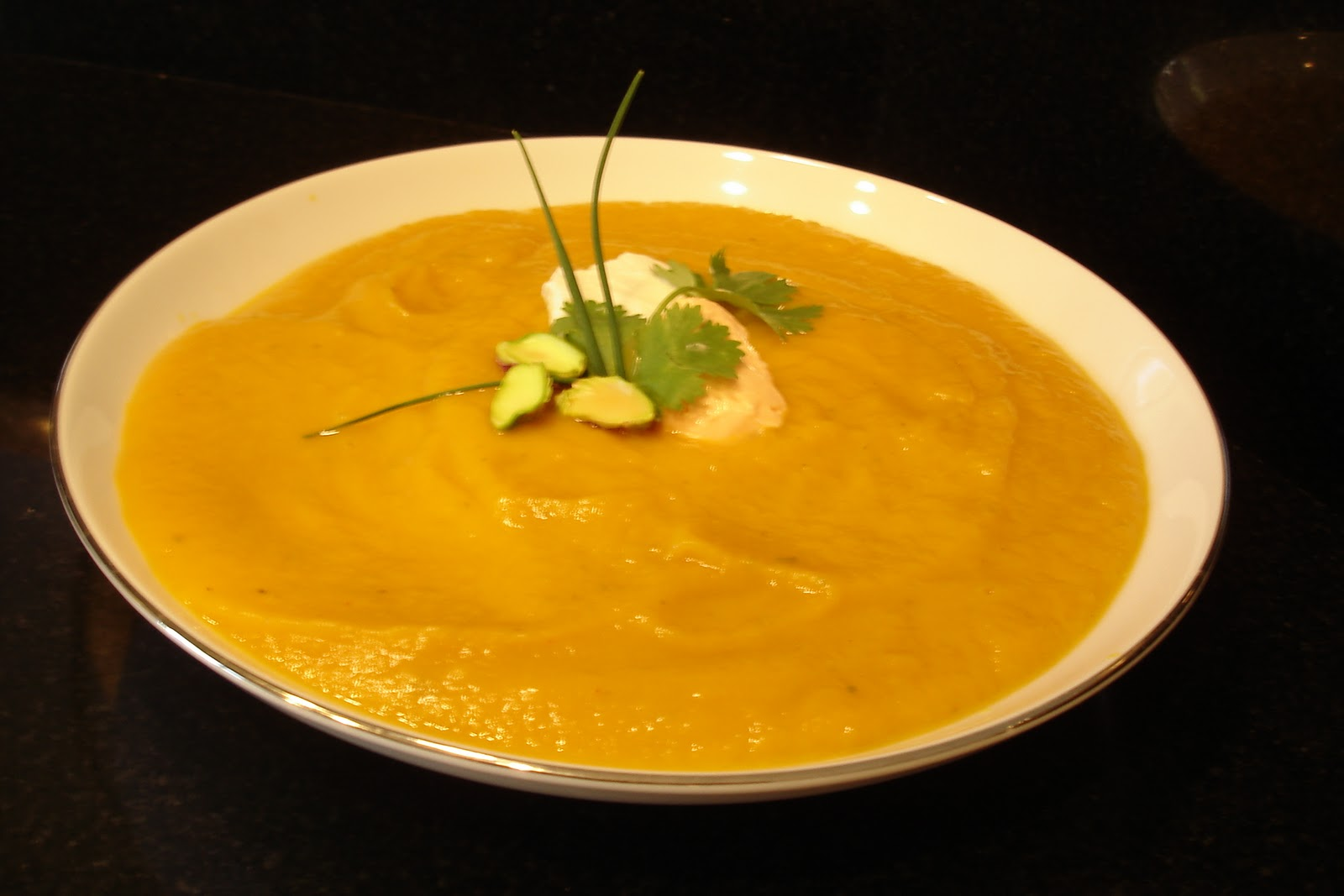 ... Recipe for the best Butternut Squash Bisque soup that I've ever had