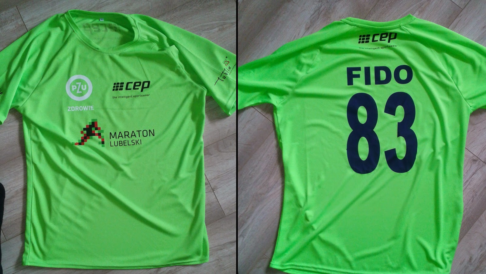 koszulka na Maraton Lubelski
