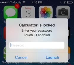 قفل وحماية التطبيقات بكلمة سر واخفاء التطبيقات للايفون