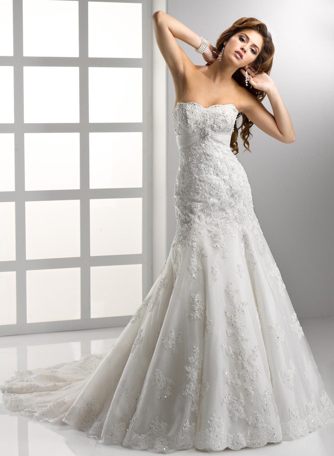 Luxus Brautkleid Online Blog: Spitze Brautkleider - Ein Zeitloser ...