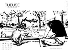 Découvrir les 3 fonds d'écran d'avril des éditions Des ronds dans l'O : albums, résolutions