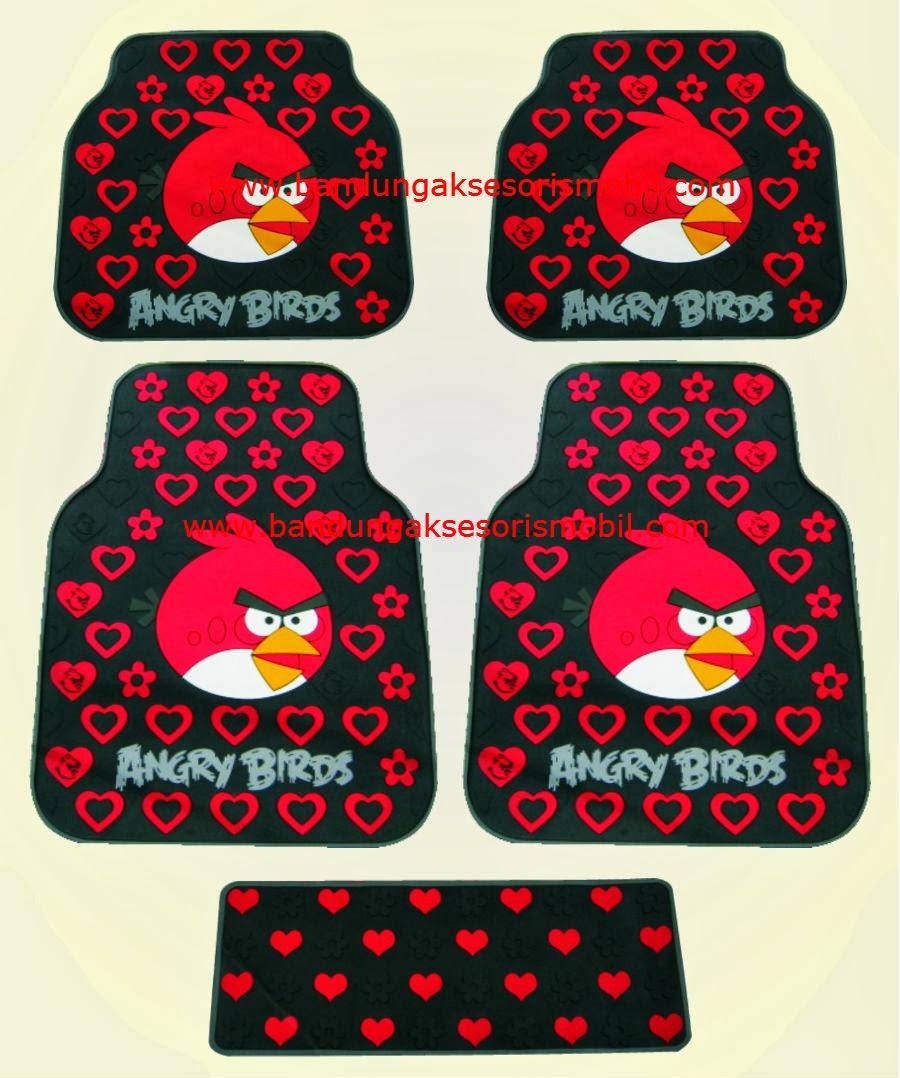 Karpet Angry Bird Merah