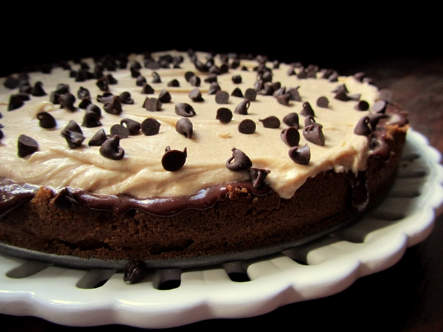 Black Bottom Peanut Butter Pie
