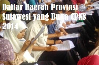 Pendaftaran CPNS Sulawesi 2014