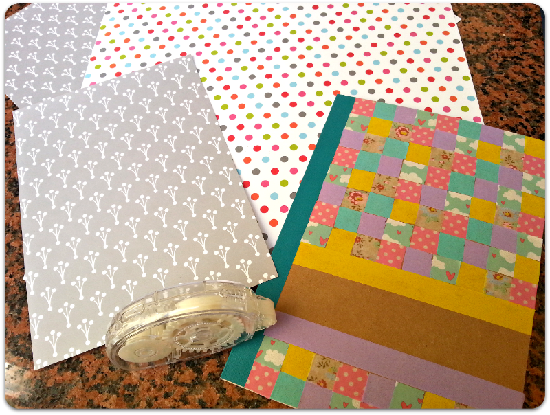 washi tape libreta DIY notebook
