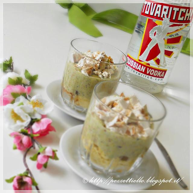 dessert al pistacchio e torrone