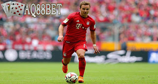 Liputan Bola - Isu transfer salah satu pemain Bayern Muenchen, Mario Gotze ke klub Juventus semakin kencang berhembus.