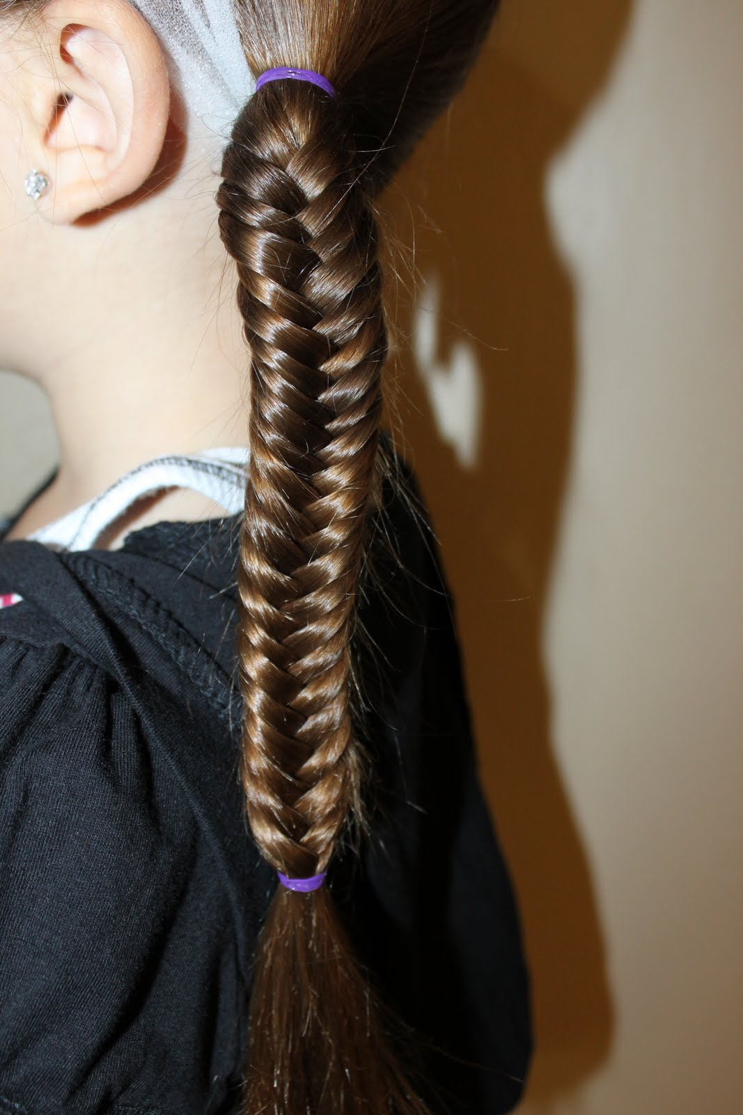 how to make a fishtail braid on yourself dailymotion