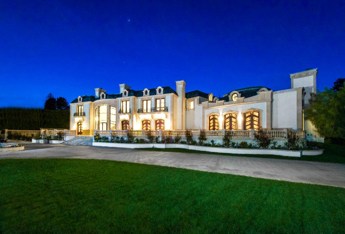 Tricked out mansions showcasing luxury houses top 10 for Beverly hill mansions for sale
