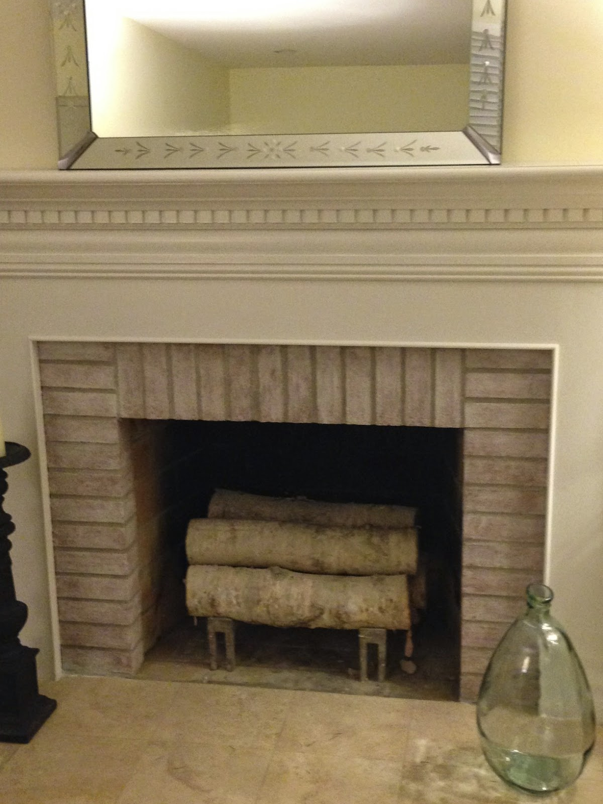 Over the holidays when catching up on blog reading, one of the blogs I love  mentioned painting the INSIDE of the fireplace black. I had wondered if  this was ...