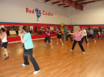 Group ZUMBA Class in Action