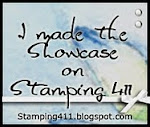 I made the Stampin' 411 showcase #202, #231
