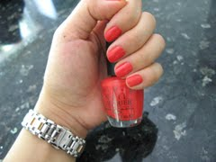 A self-confessed OPI addict...