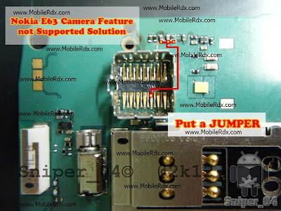 jumper nokia e63 camera not working nokia e63 camera ways